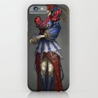 iPhone & iPod Case featuring The Courtier by Bendragon