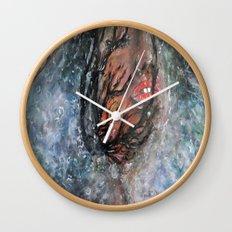 SOUS L'EAU ENCORE Wall Clock