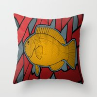 Subnet Throw Pillow