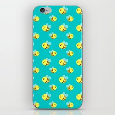 Bees - Pattern iPhone & iPod Skin