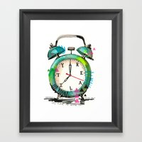 Time To Wake Up! Framed Art Print