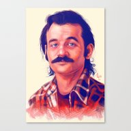 Young Mr. Bill Murray Canvas Print