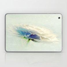 White Ranunculus Laptop & iPad Skin