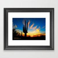 Sunset Souls Framed Art Print