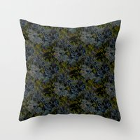 Plumbago Dance Throw Pillow