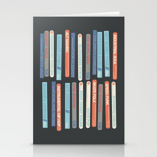Music Snob Stationery Card