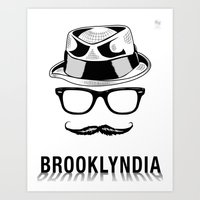 Brooklyndia Art Print