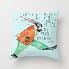 Be led By Your Dream Throw Pillow