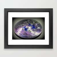 Caught In A Bubble Framed Art Print