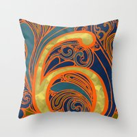 Nouveau Six Throw Pillow