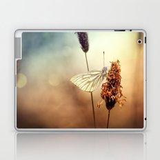 A Green-veined White (Pieris napi)...  Laptop & iPad Skin