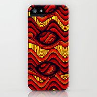 iPhone 5s & iPhone 5 Cases featuring Sizzle! by Bunny Clarke