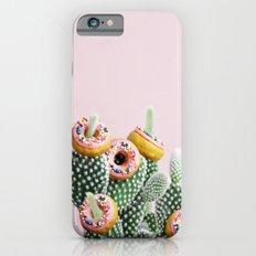Donut Cactus In Bloom iPhone 6 Slim Case
