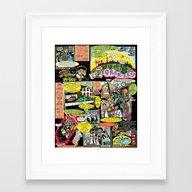 Vivita Spa KOMIX #1 Framed Art Print