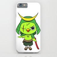 iPhone & iPod Case featuring Samurai Bird by Birdy