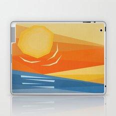 Beach Sunset Laptop & iPad Skin
