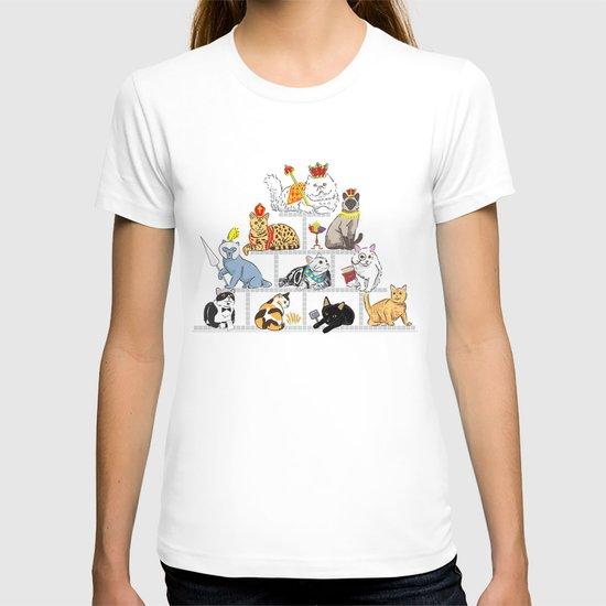 Cats Pyramid T-shirt