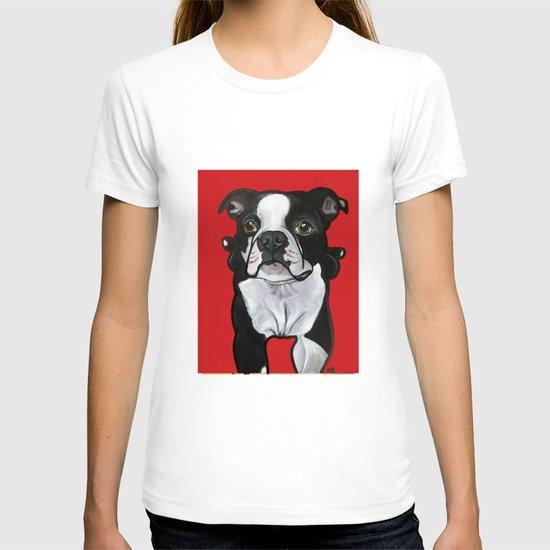 Bobo the Boston terrier T-shirt
