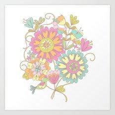 Lily & May Art Print