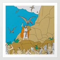 Jesus, Etc. III Art Print