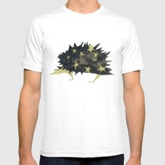 star hedgehog Mens Fitted Tee White SMALL
