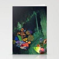 Cave Garden V Stationery Cards