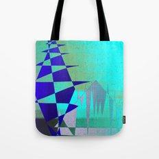 Cobalt Modiet Tote Bag