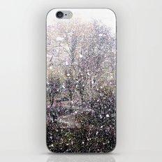 Snow in early fall(1)  iPhone & iPod Skin