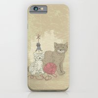 Naughty Cats iPhone 6 Slim Case