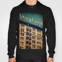 1924 Gaylord Apartments Vintage Neon Sign  Hoody