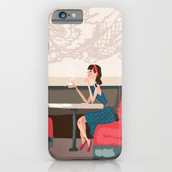 Sipping Green Tea at the Sushi House iPhone & iPod Case
