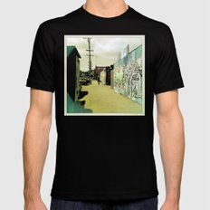 Fifteenth St. San Francisco SMALL Mens Fitted Tee Black