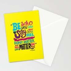 Be Who You Are... Stationery Cards