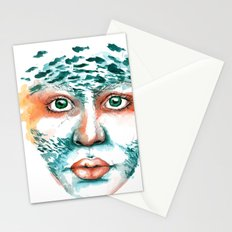 Alcedo Atthis II Stationery Cards