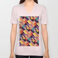 Geometri I Unisex V-Neck