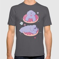 Donut King Mens Fitted Tee Asphalt SMALL