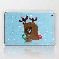 Laptop & iPad Skin featuring Rudolph by Maria Jose Da Luz