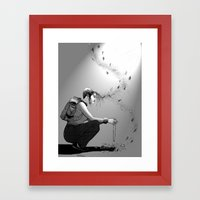 B&W No.9 Framed Art Print