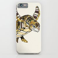 iPhone & iPod Case featuring Turtle // Animal Poker by Andreas Preis