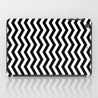 PATTERN#01 =STRIPES/BLACK+WHITE= iPad Case
