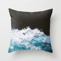 Soaked II Throw Pillow