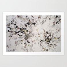Growing (close-up) Art Print