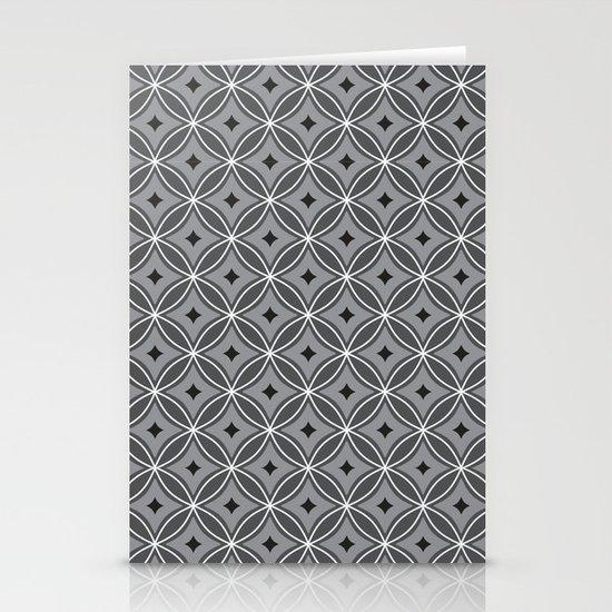 Diamonds in Smoke Stationery Card