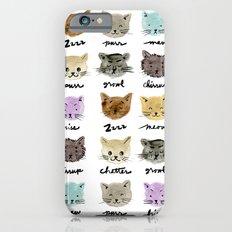 Kitty Language iPhone 6s Slim Case
