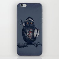 Night Watchman iPhone & iPod Skin