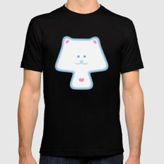 YippyMew SMALL Mens Fitted Tee Black