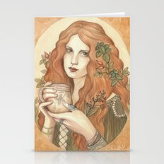 Herbal Tea Stationery Cards