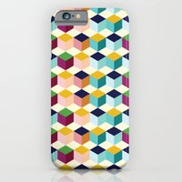 iPhone & iPod Case featuring Cube #2 by Michelle Nilson