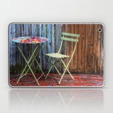 Table for One Laptop & iPad Skin