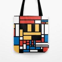 Super Mondrian Tote Bag